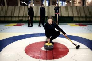 Curling med julbord på Östergårds i Danderyd