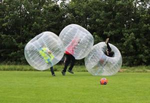 Bubble Ball i Stockholm - Kick off och teambuilding