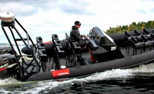 Fotojakten med RIB-båt