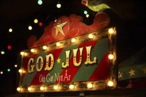 Jul på Junibacken i Stockholm - Julfest