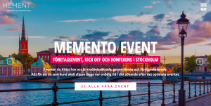 Hemsida-Memento-Event