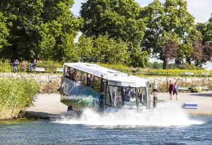 Amfibiebuss i Stockholm