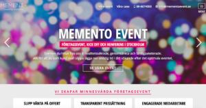 Memento-Event
