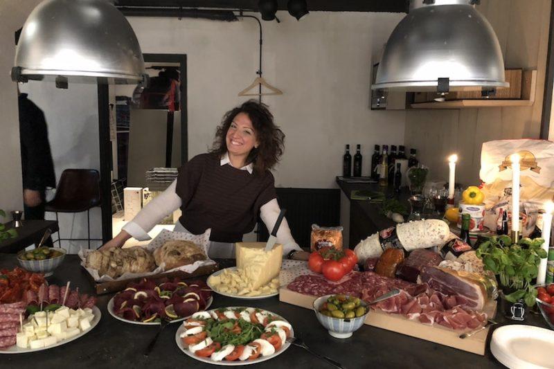 Italienskt kundevent med Memento Event