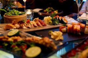 Fäktning och middag på East i Stockholm