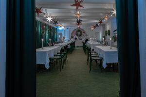 Julbord i Linnés matsal på Stadshuskällaren