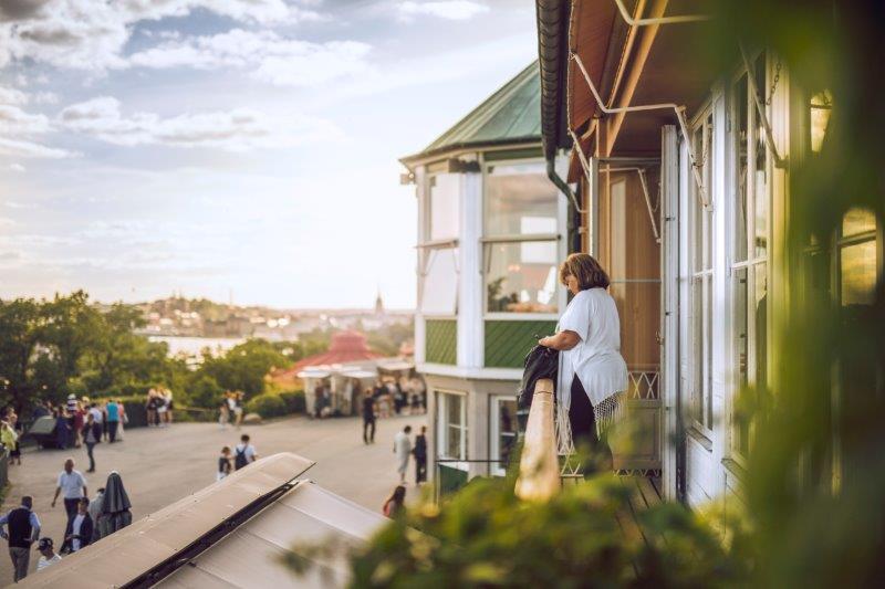Sommarfest på Skansen i Stockholm