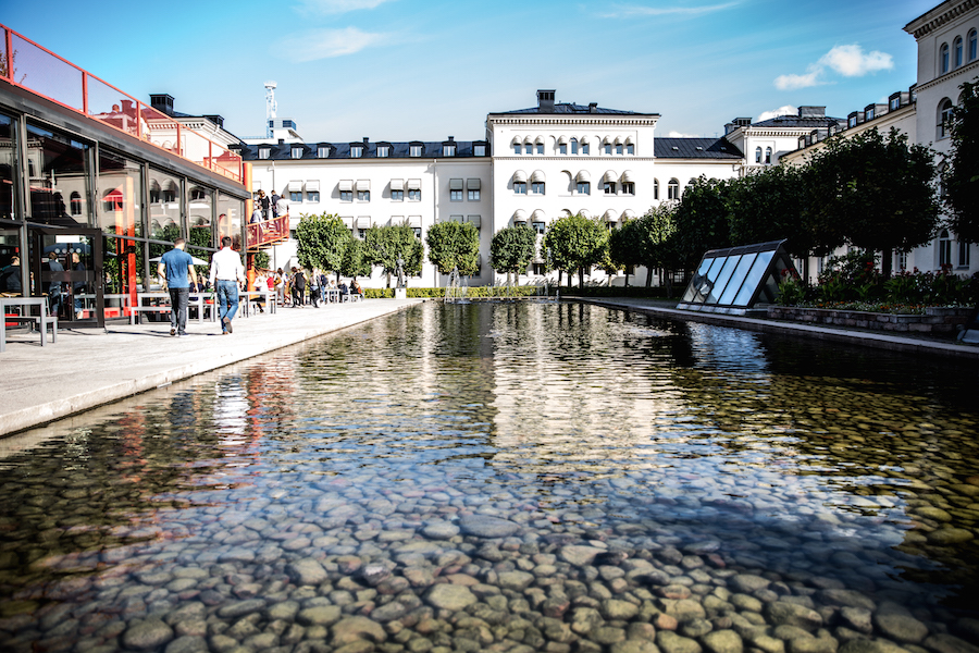 Sommarfest på K-märkt i Stockholm