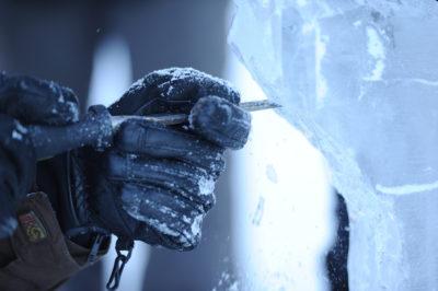 Isskulptering-vinter