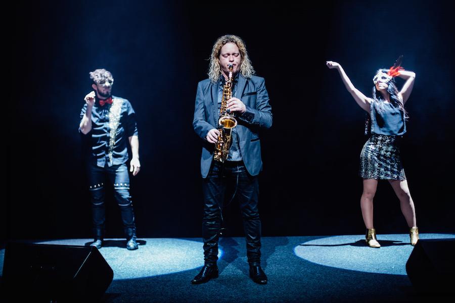 saxofonist-dansare