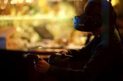 Virtual Reality och middag på Farang - Kick off och teambuilding
