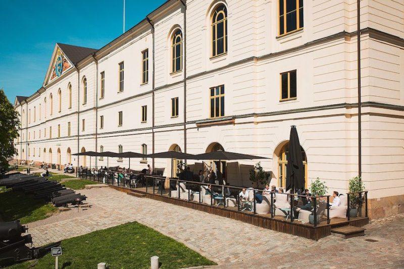 Sommarfest på Artilleriet i Stockholm