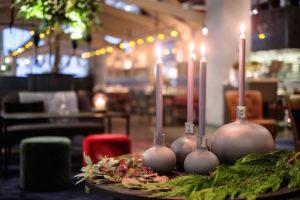 Julgran på Restaurang Mother