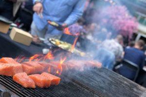 Sommarfest på Kasai i Stockholm