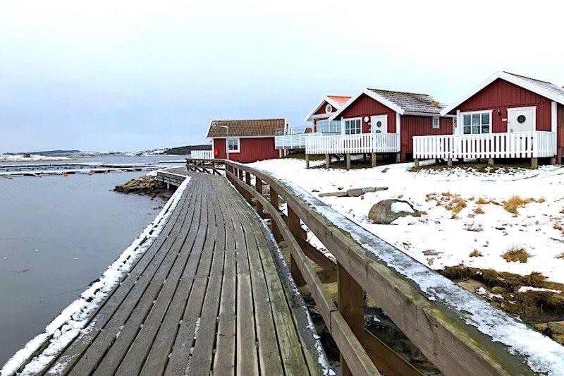 Vinter i Grebbestad