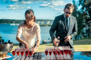 Fördrink på Villa Elfvik - Memento Event