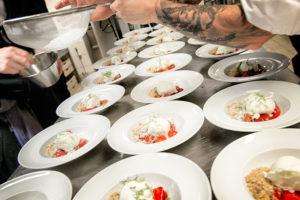 Mat på Villa Elfvik - Memento Event