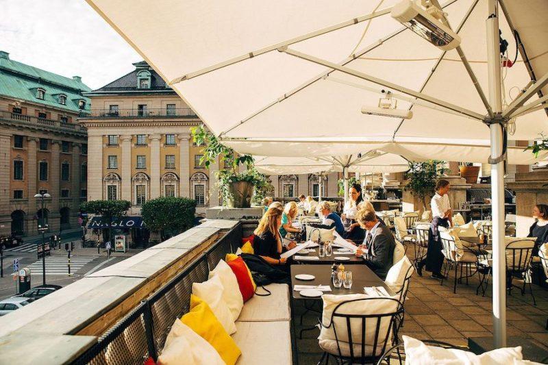 Sommarfest på Guldterrassen i Stockholm