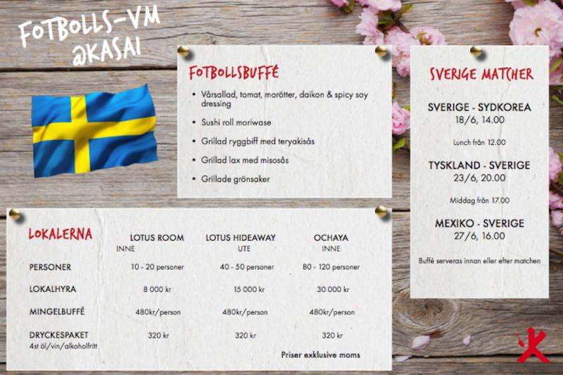 FOTBOLLS-VM PÅ KASAI I STOCKHOLM