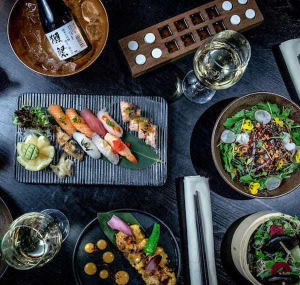 Asiatisk mat på Restaurang Kasai