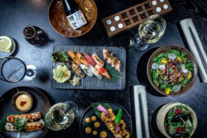 Asian Fusion på Restaurang Kasai