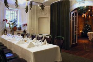 Julbord i Linnés matsal