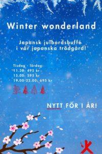 Winter Wonderland på Kasai i Stockholm - Julbordsmäklarna