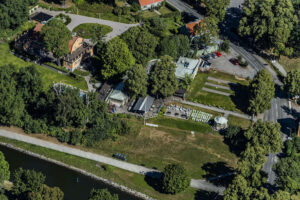 Sommarmiddag på Djurgårdsbrunns Wärdshus
