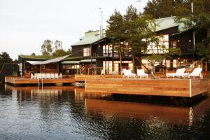 Grillfest på Villa Soludden