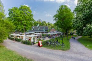 Kräftskiva på Djurgården