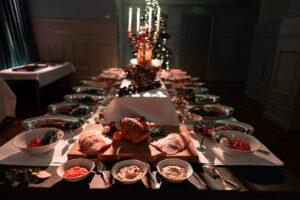 Julfest på Eriksbergs festvåning