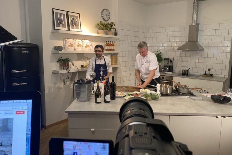 Digital Kick off med en interaktiv matlagningsaktivitet