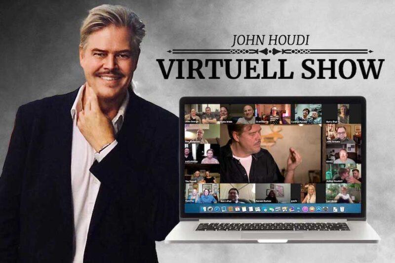 Interaktiv VIRTUELL underhållning med John Houdi